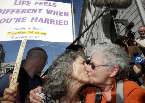 Supreme court clears way for samesex marriage in california