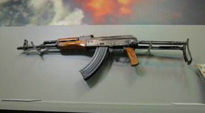 Osama Bin Laden Shooting Ak 47 CIA's Private Museum...