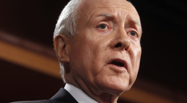Hatch: It's 'Ridiculous' That McCain Is Not Inviting Trump To His Funeral