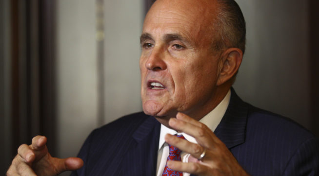 Giuliani Thinks Things Are Going Great: 'I'm Not Going To Get Fired'