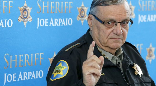 Court Orders Private Attorney To Oppose Arpaio Attempts To Wipe Criminal Record