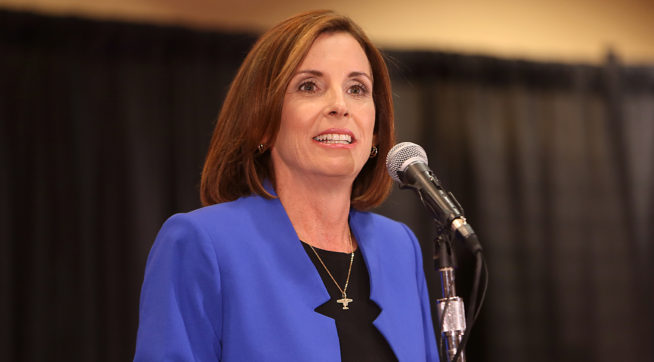 Arizona Rep. McSally Tells Colleagues She'll Run for Senate