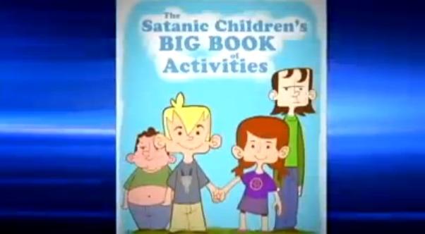 fl school delays religious freedom day over satanic coloring book - Satanic Coloring Book