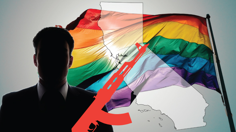 Homosexuality and supress sex drive