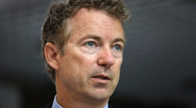 In 'good deal of pain,' Sen. Paul returning to Capitol Hill