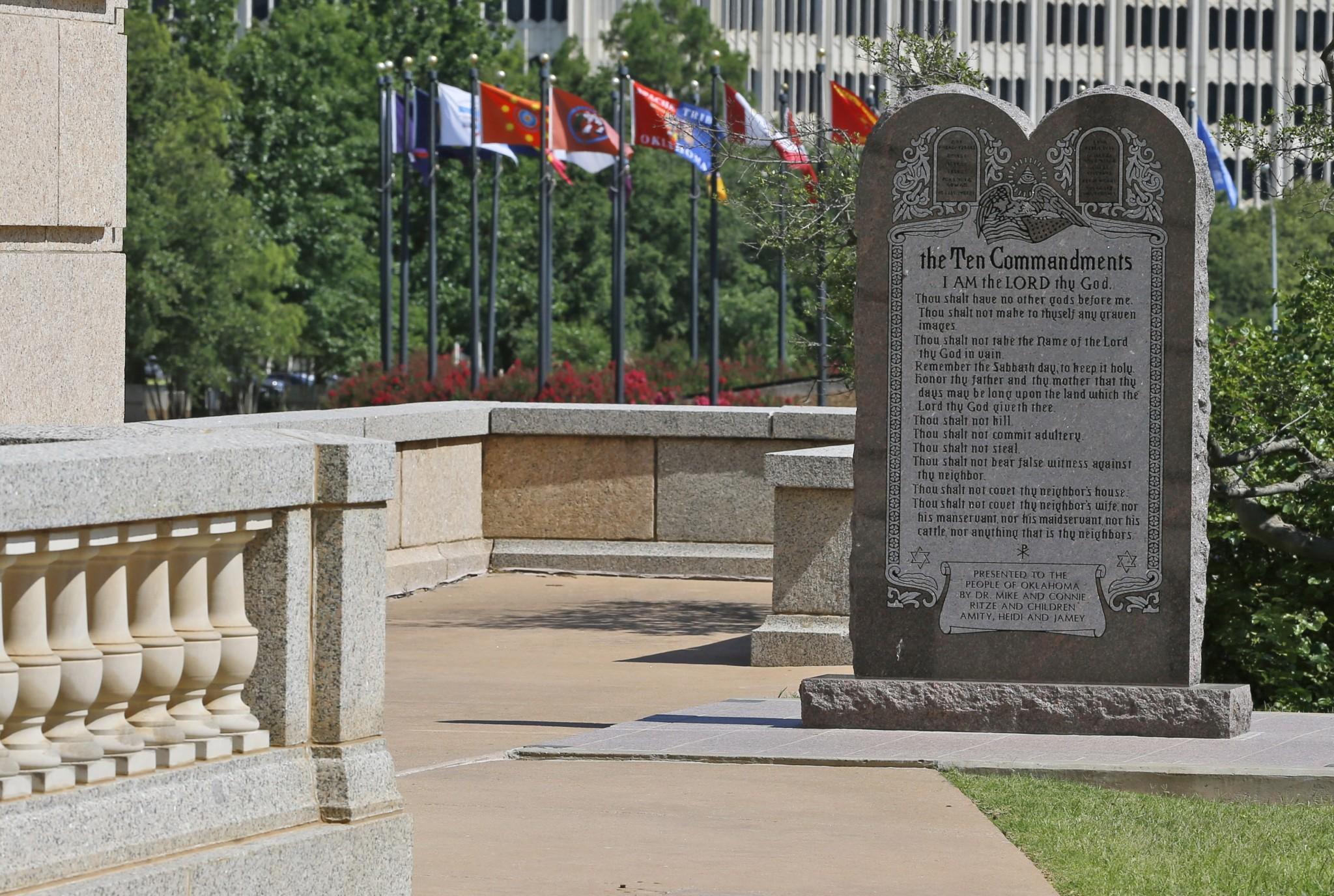 public display of the ten commandments essay