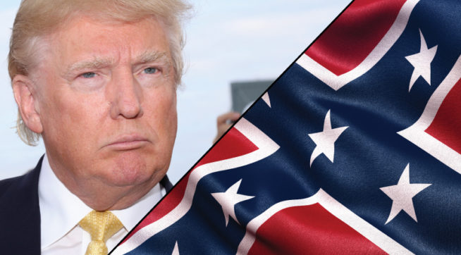 Down With The Confederate Flag, Up With Donald Trump! – Talking ...