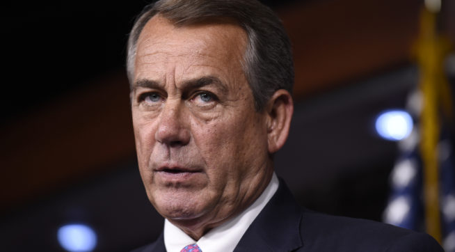 Boehner: GOP Will 'Never' Repeal, Replace Obamacare