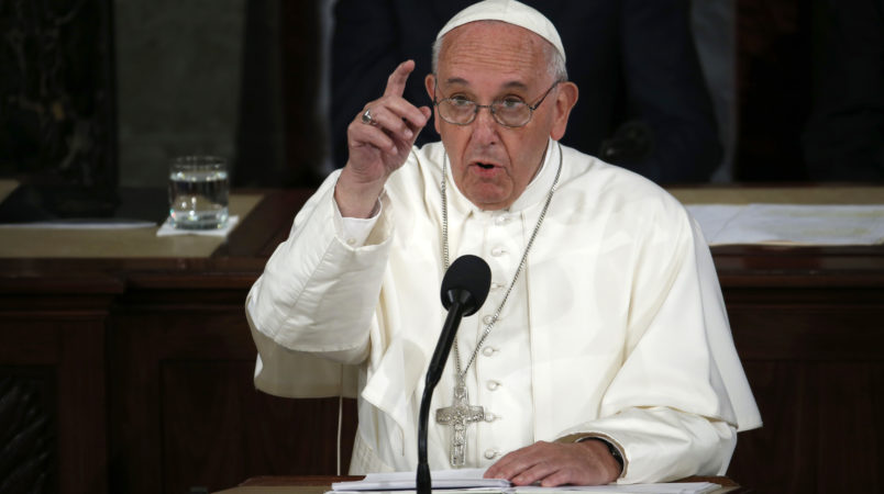 Pope blasts Trump administration policy on migrant family separation