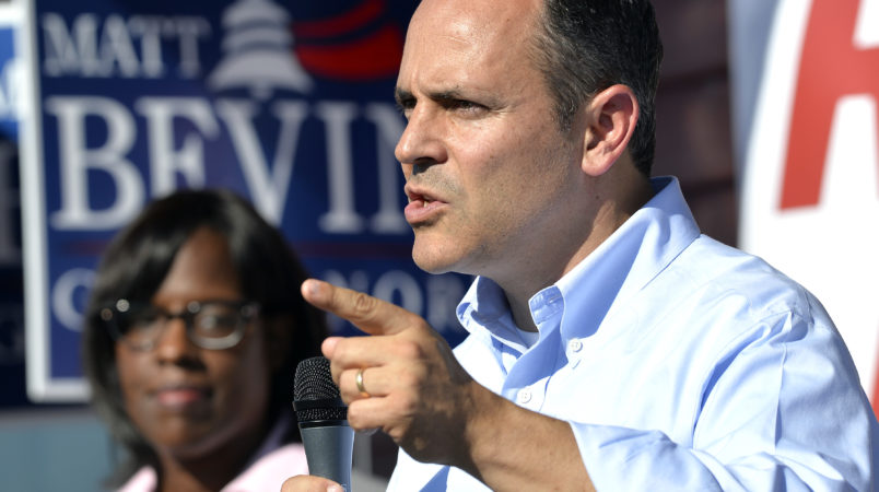 Teachers, parents disgusted with Bevin's sexual assault comments