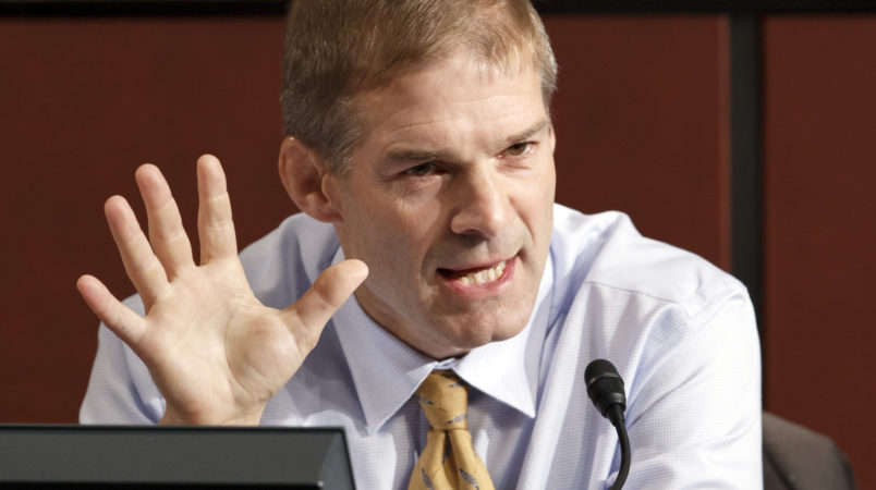 Rep. Jordan Denies He Knew About Abuse While Coach at Ohio State