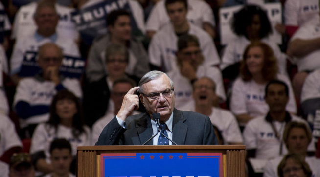 At AZ Event, Pence Calls Arpaio 'Tireless Champion' Of 'The Rule Of Law'
