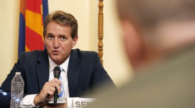 Sen. Jeff Flake is 'Weak' and 'Toxic'