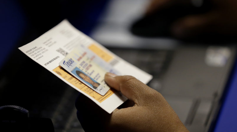Federal Court Allows Controversial Texas Voter ID Law To Remain In Effect