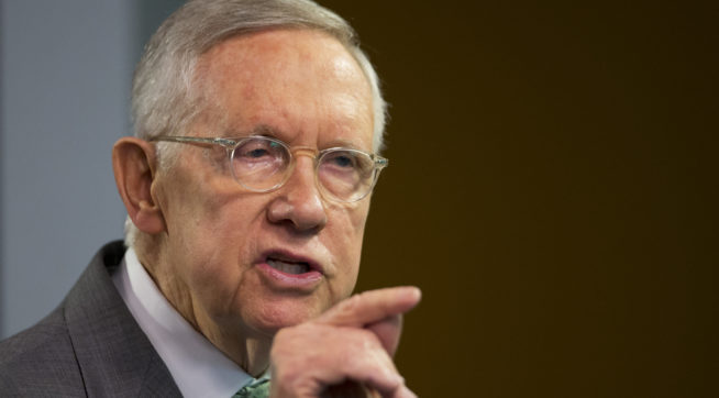 Harry Reid Underwent Surgery Monday To Remove Tumor From Pancreas, Family Says