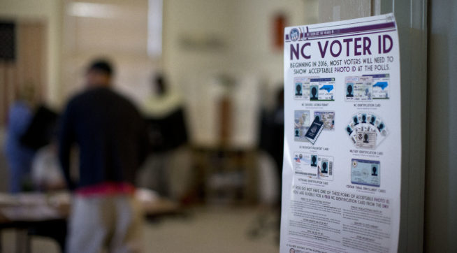 US Supreme Court Won't Revive North Carolina Voter-ID Law