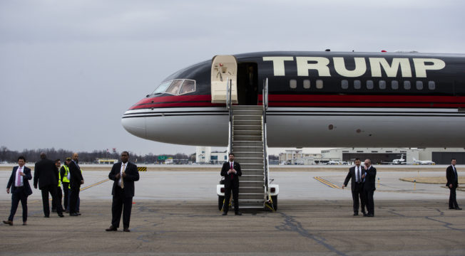Donald Trumps Private Jet Isnt Currently Registered To Fly  Talking Points