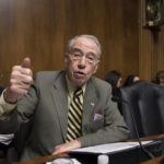 Senate Judiciary Committee Chairman Chuck Grassley, R-Iowa, whose panel is responsible for vetting judicial appointments, arrives for a hearing shortly after President Barack Obama announced Judge Merrick Garland as his nominee to replace the late Justice Antonin Scalia on the Supreme Court, on Capitol Hill in Washington, Wednesday, March 16, 2016. Senate Majority Leader Mitch McConnell, R-Ky., repeated his steadfast opposition to holding confirmation hearing in the Judiciary Committee in President Obama's last months in the White House and made it clear in a speech on the floor that the GOP-led Senate will not consider President Barack Obama's nominee, Merrick Garland, but will wait until after the next president is in place.  (AP Photo/J. Scott Applewhite)