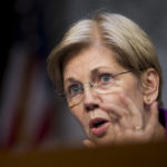 Committee member  Sen. Elizabeth Warren, D-Ma.,  questions witnesses  during a Senate Specials Committee on Aging hearing on drastic price hikes by Valeant and a handful of other drugmakers that have stoked outrage from patients, physicians and politicians nationwide, on Capitol Hill in Washington, Wednesday, April 27, 2016,. (AP Photo/Manuel Balce Ceneta)