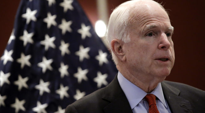 McCain: Transgender Individuals 'Should Be Allowed' To Serve In Military