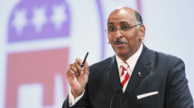 Michael Steele addresses CPAC official's 'painfully stupid' comment about race