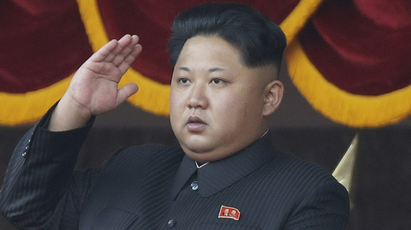 FILE - In this Oct. 10, 2015, file photo, North Korean leader Kim Jong Un salutes at a parade in Pyongyang, North Korea. North Korea on Friday opened the first full congress of its ruling party since 1980, a major political event intended to showcase the country's stability and unity under leader Kim Jong Un despite international criticism and tough new sanctions over the North's recent nuclear test and a slew of missile launches. (AP Photo/Wong Maye-E, File)