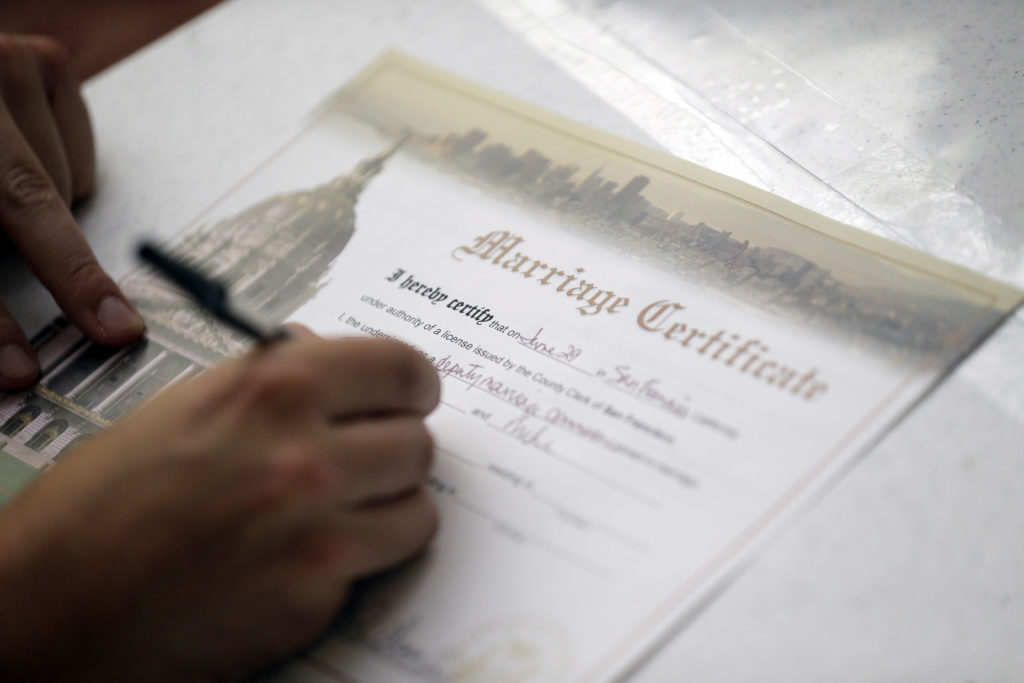 Louisiana Law Requiring A Birth Certificate In Order To Marry To Be ...