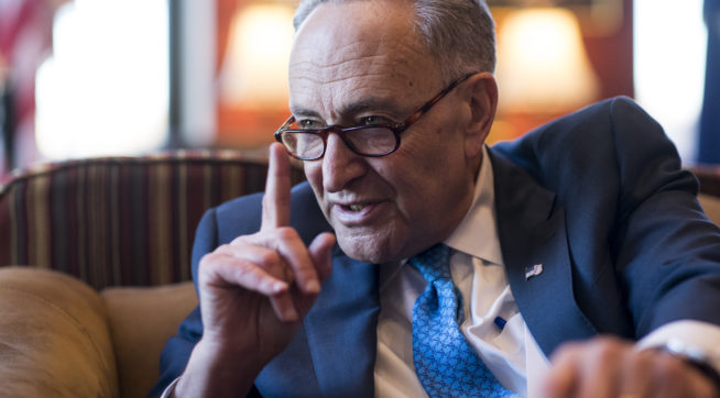 Reported Chuck Schumer Sex Scandal Suit Is 'Completely False': Ex-Staffer