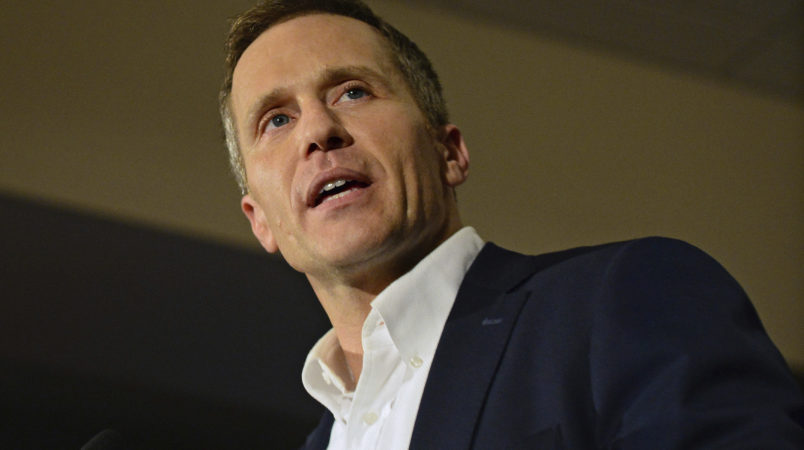 Missouri governor to be replaced by longtime traditional politician