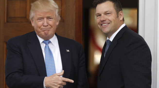 Voter fraud chief wanted to rescind voter protections before first Trump meeting