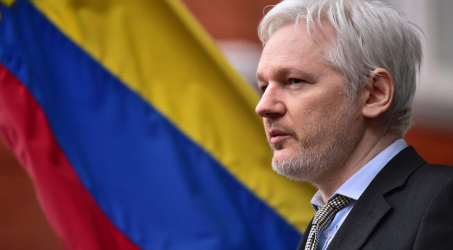 Assange Hacked Ecuador Embassy Comms System, Set Up Own Internet