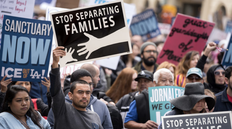 GOP Drafts Bill Overturning Policy of Separating Families at Border