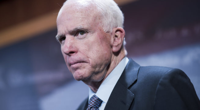 Report: WH Staffer Mocked 'Dying' McCain After He Announced Opposition To CIA Nom