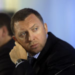 """Billionaire Oleg Deripaska attends an investment forum in Moscow, Russia, Wednesday, Sept. 30, 2009. Russian Prime Minister Vladimir Putin told participants at the """"Russia Calling!"""" forum, sponsored by state-owned bank VTB, that """"we plan to consistently and purposefully reduce state intervention in the economy and, moreover, step up privatization processes."""" (AP Photo/Sergey Ponomarev)"""