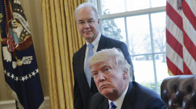 Trump will decide Price's future by Friday night
