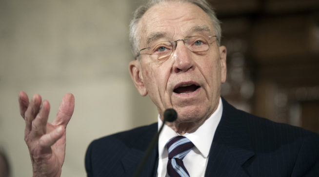 Grassley Defangs Dems By Taking Away Last Tool To Block Judicial Nominees