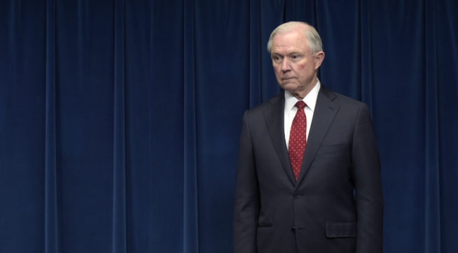 Did Sessions mislead Congress about his interactions with Russian Federation?