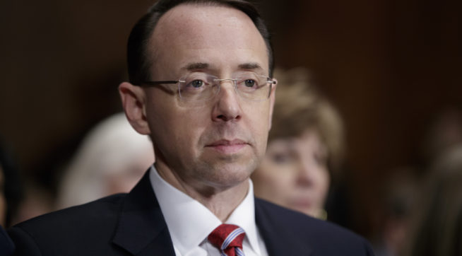 NBC: Rosenstein Ready For His Possible Firing