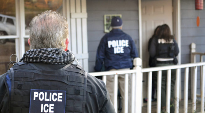 Foreign nationals were arrested this week during a targeted enforcement operation conducted by U.S. Immigration and Customs Enforcement (ICE) aimed at immigration fugitives, re-entrants and at-large criminal aliens.