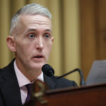 Chairman Rep. Trey Gowdy, R-S.C., speaks during a hearing of the House Judiciary Subcommittee on Crime, Terrorism, Homeland Security, and Investigations, on Capitol Hill, Tuesday, April 4, 2017 in Washington. (AP Photo/Alex Brandon)