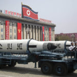 In this Saturday, April 15, 2017, file photo, a submarine missile is paraded across Kim Il Sung Square during a military parade in Pyongyang, North Korea to celebrate the 105th birth anniversary of Kim Il Sung, the country's late founder and grandfather of current ruler Kim Jong Un. While the heightened tension and rhetoric between Washington and Pyongyang may begin to cool down, there are many reasons why President Trump's problem isn't likely to go away. (AP Photo/Wong Maye-E, File)