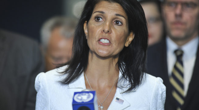 Trump is CEO of the country, can fire anyone he wants:Haley