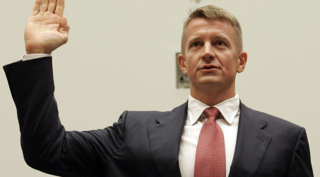 Trump associate Erik Prince evasive on why he met with Kremlin-connected banker during transition