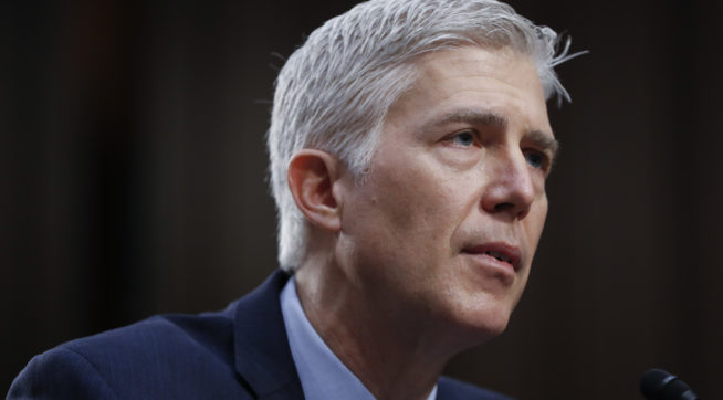 Trump talked of rescinding Gorsuch nomination after criticism
