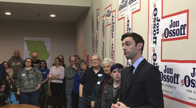 Pro-Trump Group's Ad Attacks Ossoff in Georgia Race