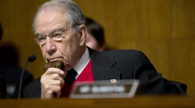 Grassley Again Says He Wants 2016 Trump Tower Meeting Transcripts Released