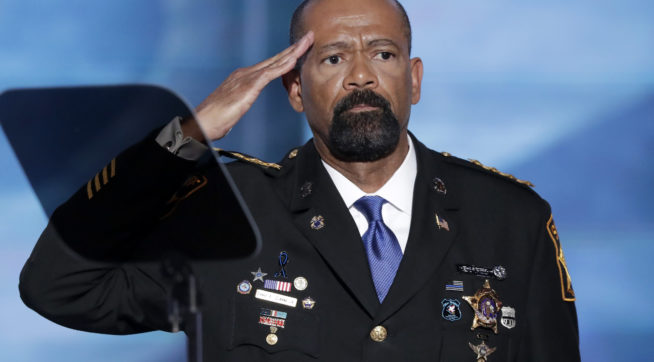 Sheriff David Clarke temporarily blocked by Twitter after posting some disturbing tweets