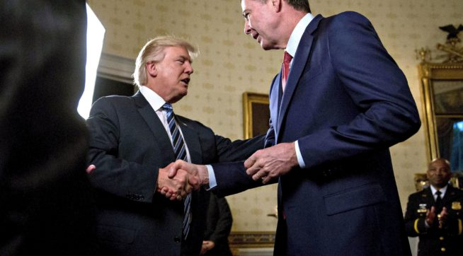 US Senate intel panel invites James Comey to testify in Public