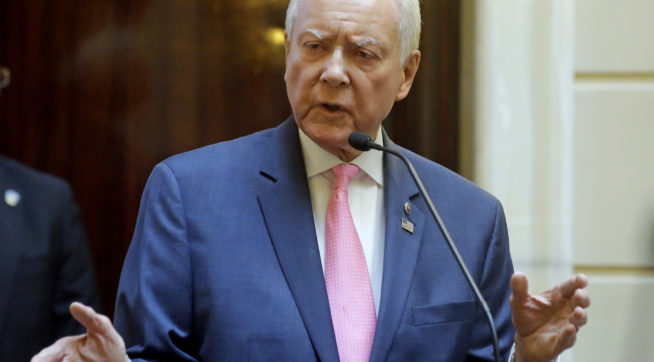 Senator Orrin Hatch Scolds Internet About True Meaning of Shooting Wads