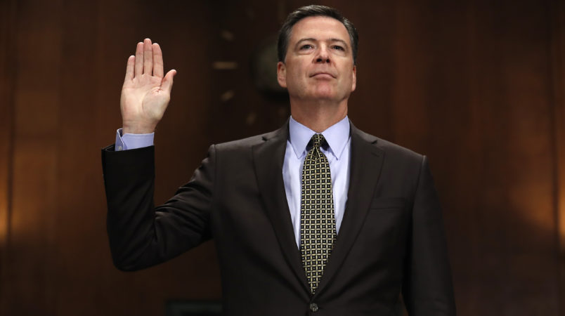 Image result for james comey altar boy